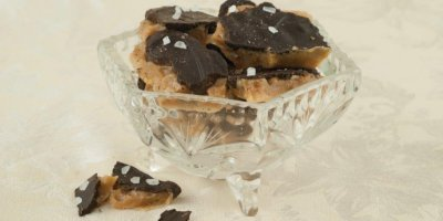 Eagle Gourmet Selects Dark Choc Sea Salt TOFFEE