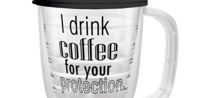 For Your Protection Coffee Mug